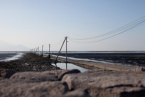 長部田海床路